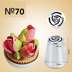 """№70, насадка """"тюльпан"""", роза"""