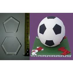 Футбольний м'яч, вирубка