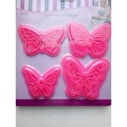 Метелики нові, відтиск