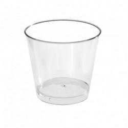 Склянка пластикова кругла...