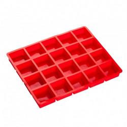 20 кубиків, форма...