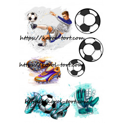 №09, Футбол, вафельна картинка