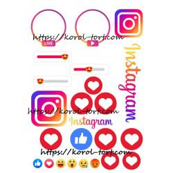 №121а, Instagram, Like,...