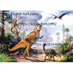 №451, Динозаврики, Вафельні...