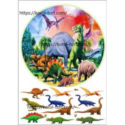 №453, Динозаврики, Вафельна...