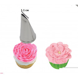 Пелюстка рози 1,1 см вихід,...