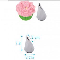 Вигнута пелюстка рози 2 см,...